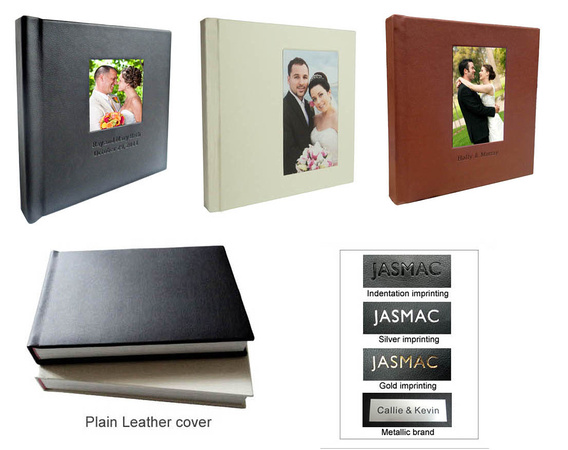 Plain Leather Cover